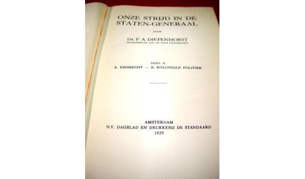 Boek uit 1929