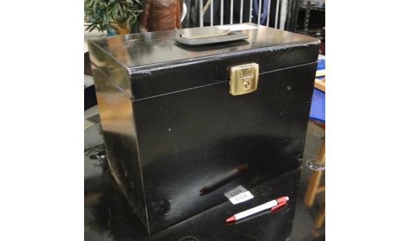 Metalen documentenkoffer