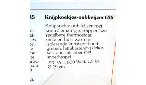 Oublie-ijzer 635