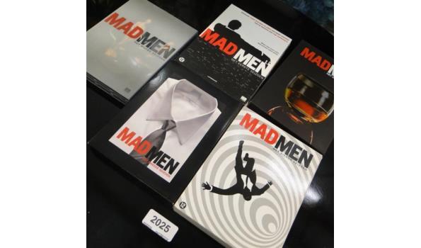 5 x Madmen dvd box