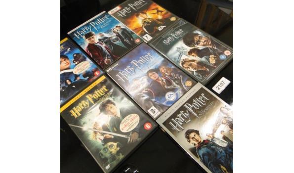 7 x Harry Potter