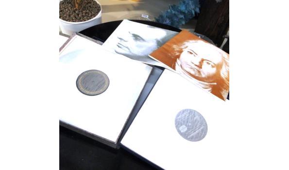 4x LP/Vinyl verzamelcassettes