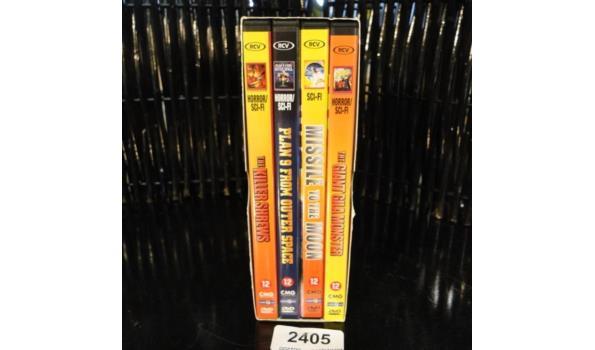 DVD Box Horror Sci-fi