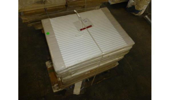 Partij met 14 stuks radiator