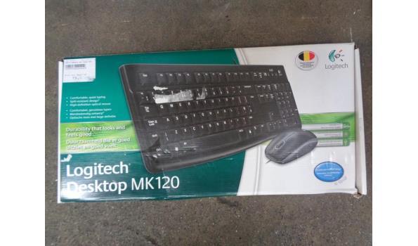 Logitech desktop keyboard & muis