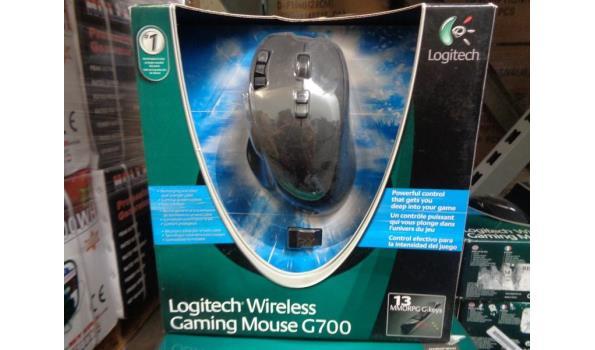 Logitech draadloos gaming muis