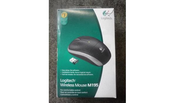 Logitech draadloos muis