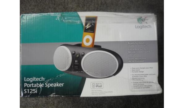 Logitech draagbare speaker