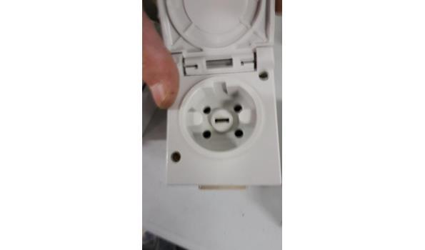 diverse opbouw stopcontacten 5 polige