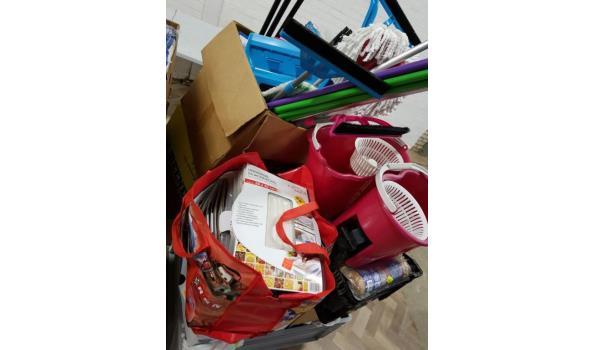 partij huishoudelijke artikelen en speelgoed