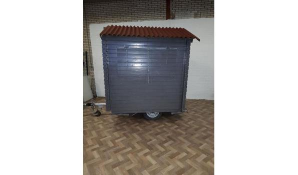compacte grijze verkoopwagen