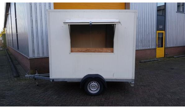 geïsoleerde verkoopwagen voor diverse doeleinde geschikt