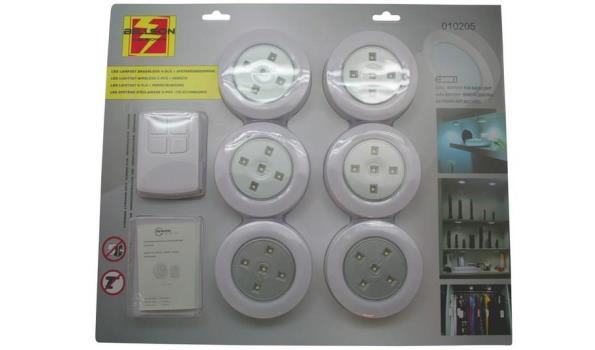 LED lampset draadloos