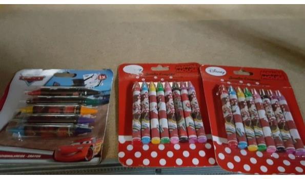 Disney kleursetje 3 stuks
