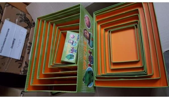Opberg box Disney toy story 1 stuks 8 delig