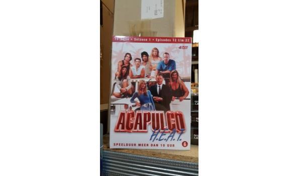 DVD box 4 dvd - Acapulco heat deel 2 - 2 stuks