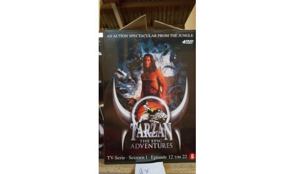 DVD box 4 dvd - Tarzan deel 2 - 4 stuks