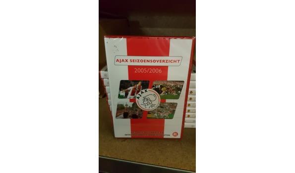 DVD AJAX 10 stuks