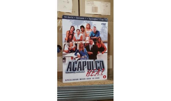 DVD box 4 dvd - Acapulco heat deel 1 - 6 stuks
