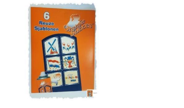 Partij Oranje sjablonen set 30 sets