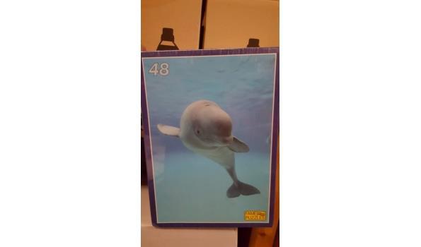 Puzzle dolfijn 1 stuks