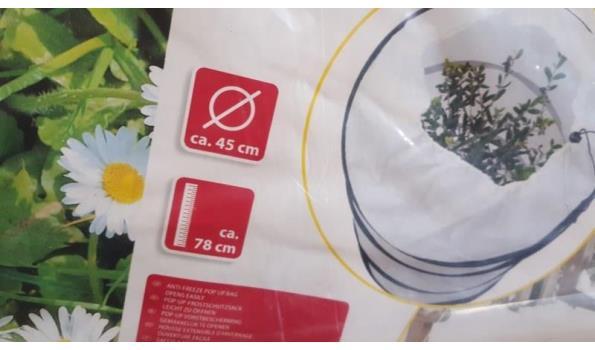 Planten bescherm buis hoes  2 stuks