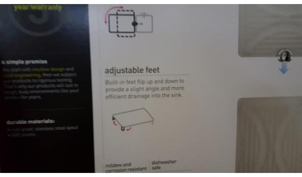 Rol tray voor oa onder bed  1 stuks