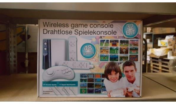 Wii console imitatie 1 stuks