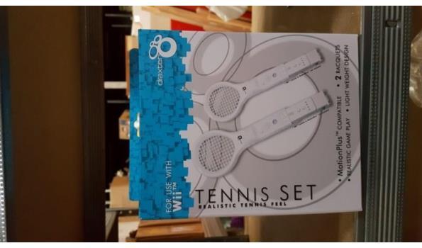 Wii Tennis set 3 stuks