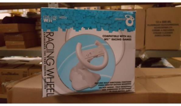 Draxter racing wheel   for Wii   1 stuks