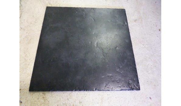 Vloertegels Pietra sacra nero 50x50cm