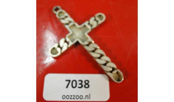 Zilveren Crucifix