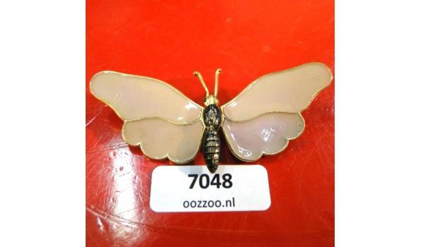 Cloisonné vlinderbroche