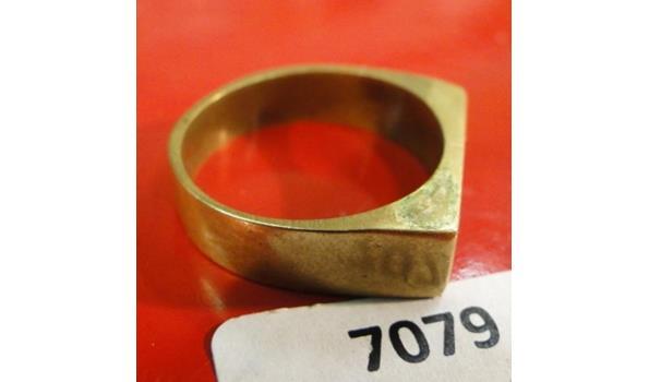 Bronzen ring