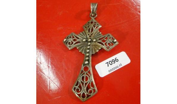 Zilveren? Crucifix