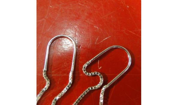 Zilveren oorsieraden