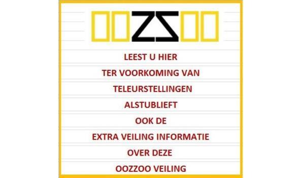 Extra veilinginformatie OOZZOO, Lunteren