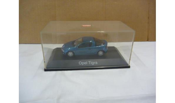 Opel tigra blauw