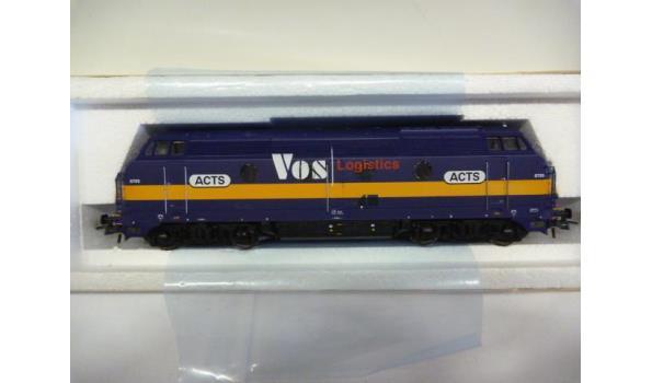 diesellok 6705 Vos acts blauw