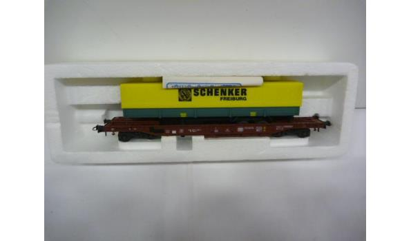 wagon met trailer Schenker