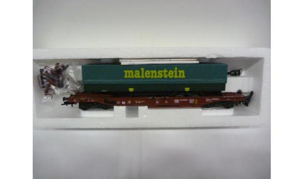 wagon met trailer Malestein