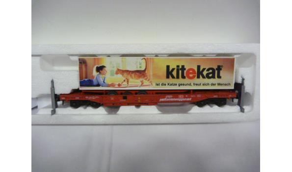 wagon met trailer Kitekat