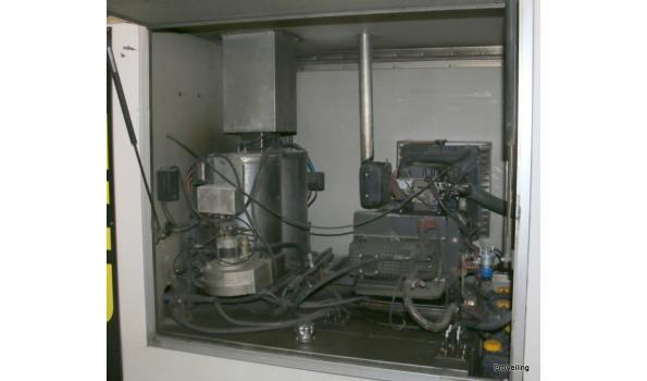Hogedrukspuit unit in gesloten wagen - WT-TS-70