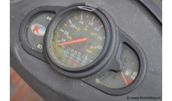 "Kymco Agility 10"" bromscooter - Kenteken 76-DSV-1"