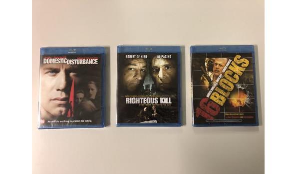 Blu-rays 3 stuks