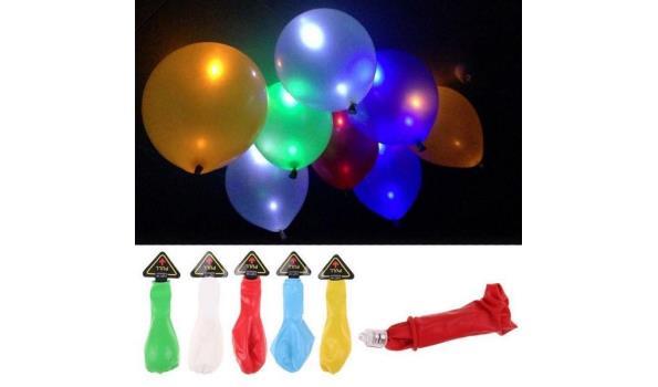 Led-ballonnen, 25 stuks
