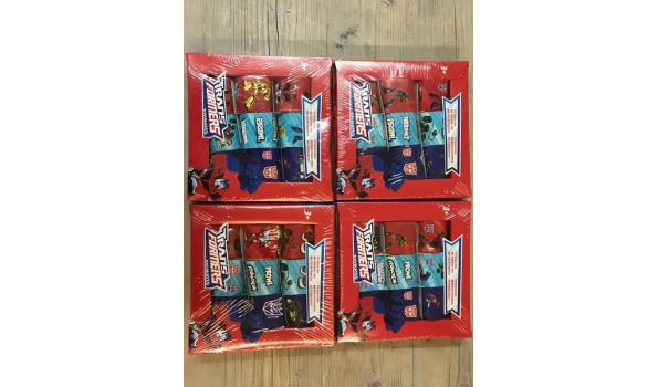 Transformers stickerbox 4 stuks