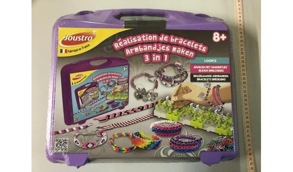 Koffer armbandjes maken