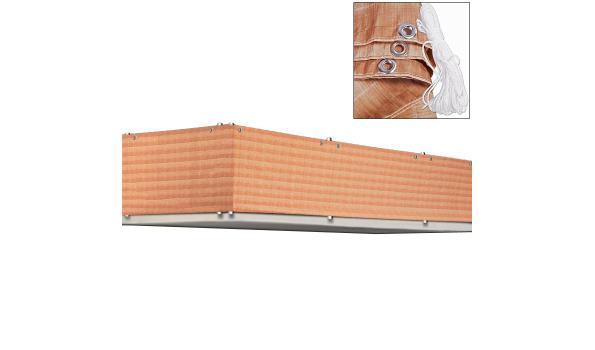 Privacybescherming voor balkon / tuinomheining - 5m - rietlook (1101562)