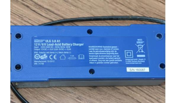 Ultimate speed batterij oplader - ULG 3.8 A1